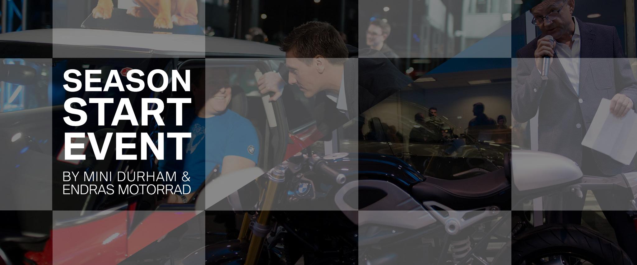 Season Start Event hosted by MINI Durham & Endras Motorrad
